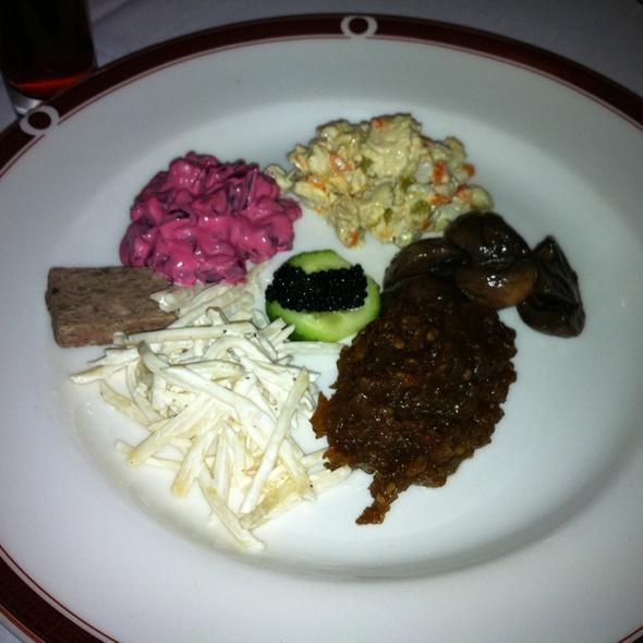 Zakuski Platter - Russia House Restaurant - Herndon, Herndon, VA