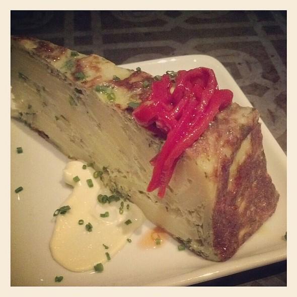 Tortilla Espanola - Bar Ferdinand, Philadelphia, PA