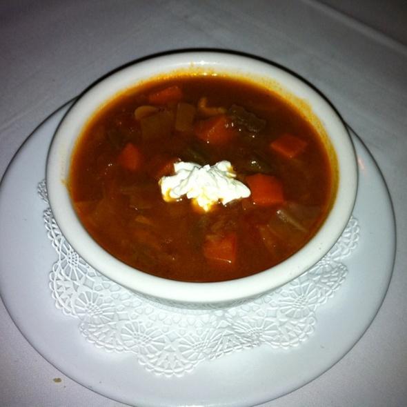 Borscht - Russia House Restaurant - Herndon, Herndon, VA
