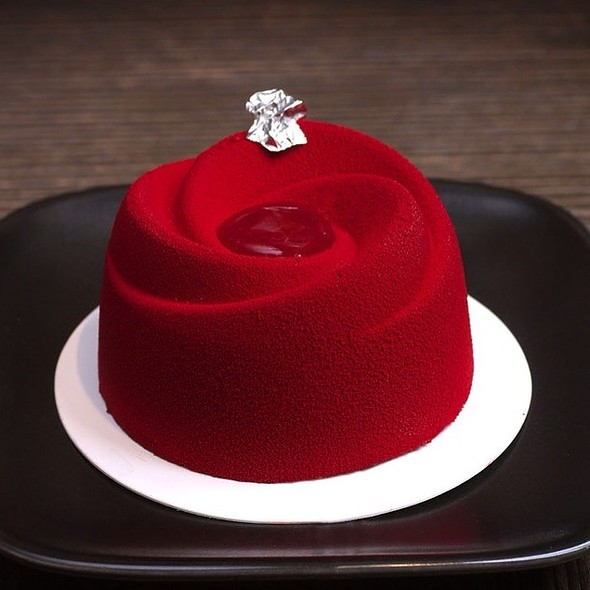 Raspberry and Lychee Rose  - Yauatcha Soho, London