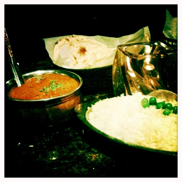 chicken tikka masala - Little India Restaurant - Downtown, Denver, CO