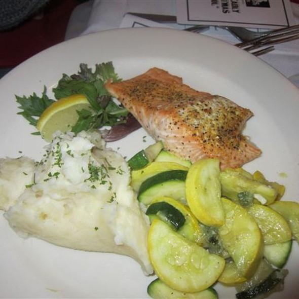Grilled Salmon - Bravo Brasserie - Providence, Providence, RI