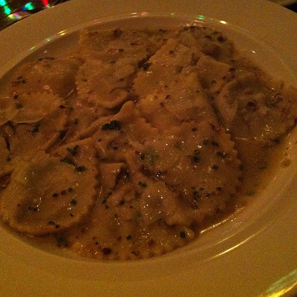 mushroom and truffle raviolli - Miranda Restaurant, Brooklyn, NY