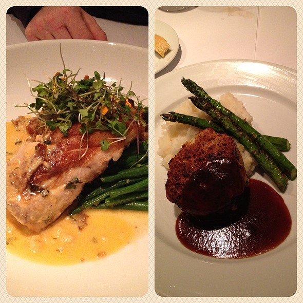 Grouper And Filet Mignon - Lindey's, Columbus, OH