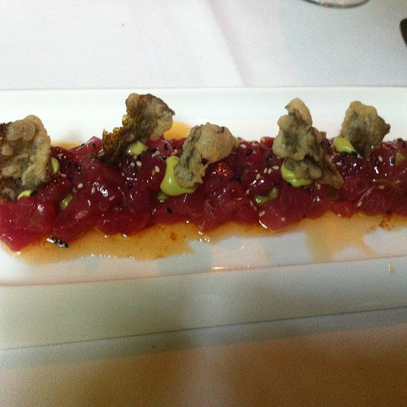 Tuna Crudo - One if by Land, Two if by Sea, New York, NY
