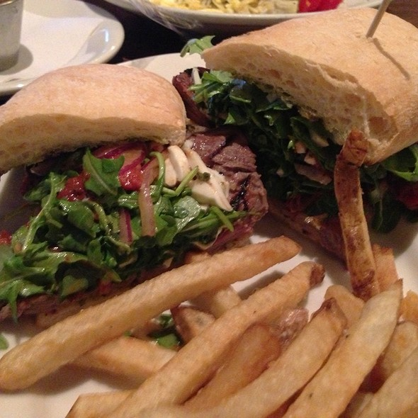 Tenderloin Steak Sandwich - Wildfire - Oak Brook, Oak Brook, IL