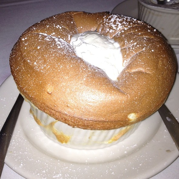 grand marnier souffle - Morton's The Steakhouse - Coral Gables, Coral Gables, FL