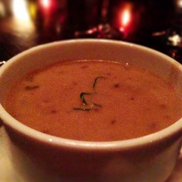 Mushroom Brie Soup - The Boat Club Restaurant, Whitefish, MT