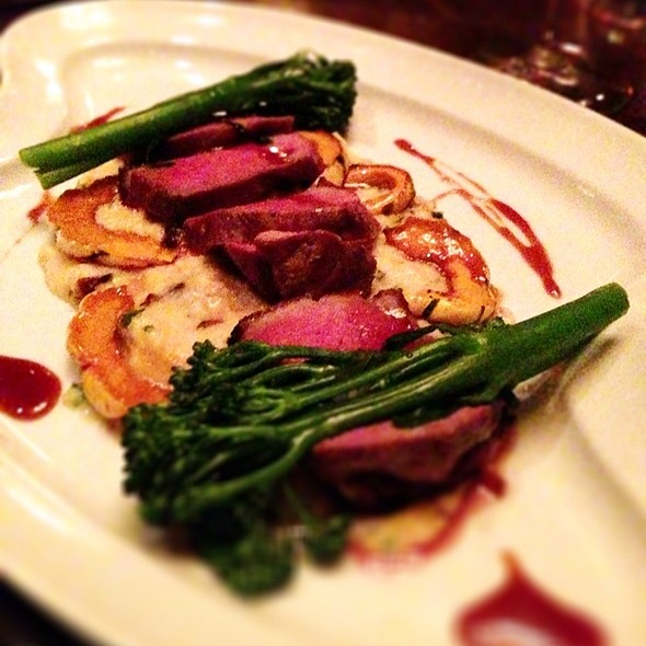 Seared Duck Breast  - The Boat Club Restaurant, Whitefish, MT