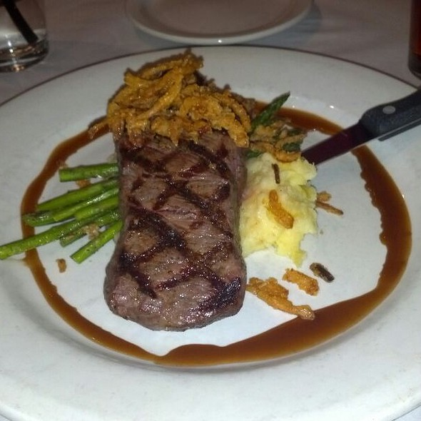 New York Strip - Ritz Grill, Colorado Springs, CO
