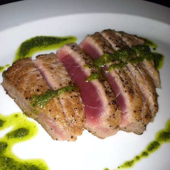 Seared Tuna With Salsa Verde - Wolfgang Puck Steakhouse - MGM Grand Detroit, Detroit, MI