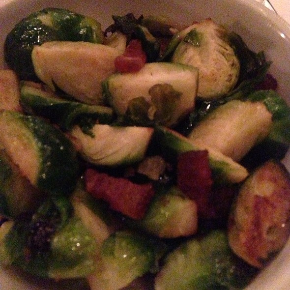 Brussel Sprouts And Bacon - Mon Ami Gabi - Las Vegas - Main Dining Room, Las Vegas, NV