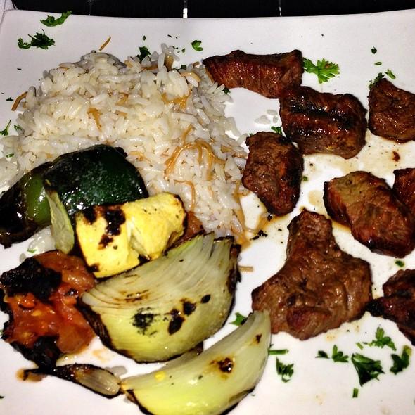 Beef Kabob - Skewers Mediterranean Café & Grill, Houston, TX