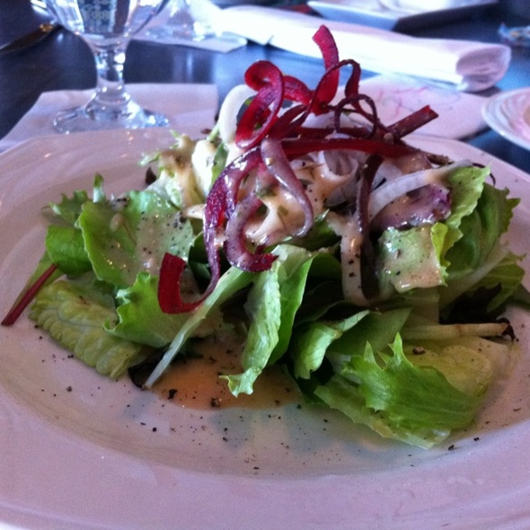 House Salad - Riverwalk Restaurant, Yorktown, VA