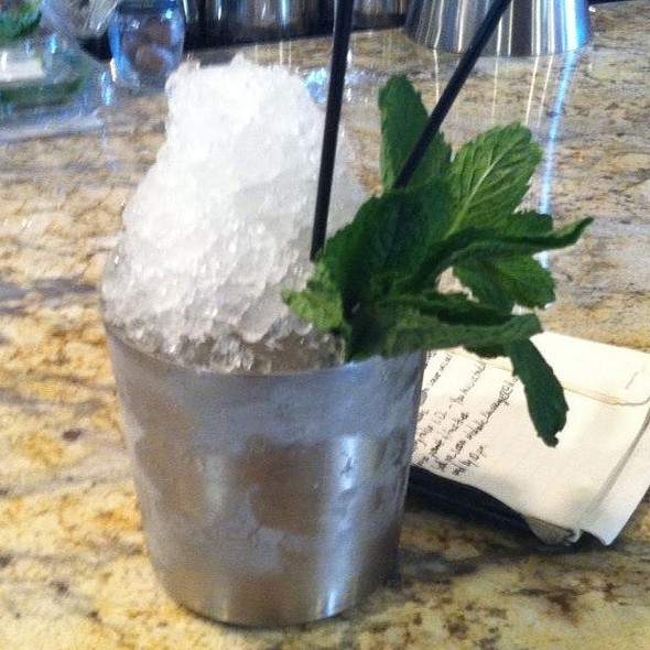 Mint Julep - Andy's Bistro, Metairie, LA