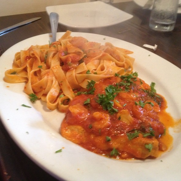 Fish With Red Sauce - Francesco's Ristorante & Pizzeria, Maitland, FL
