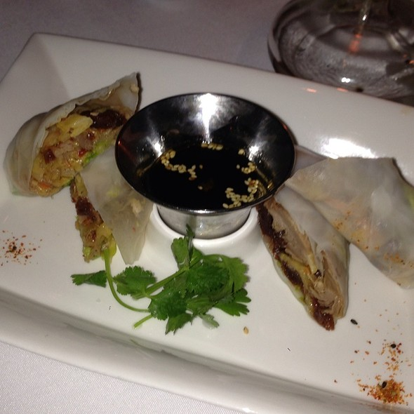 Duck Confit Spring Rolls - New Sheridan Chop House, Telluride, CO