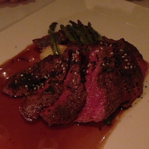 30 Day Dry Aged Bison Ribeye - New Sheridan Chop House, Telluride, CO