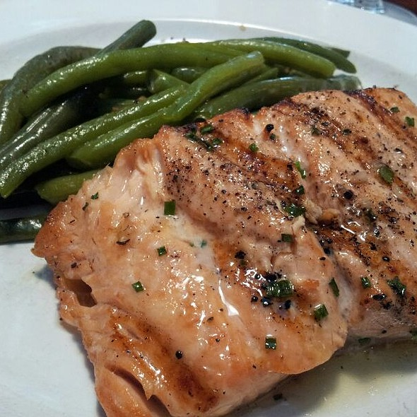 Grilled Atlantic Salmon - Frank's Americana Revival, Houston, TX