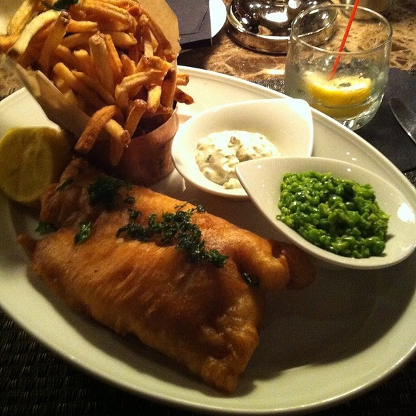 English Fish And Chips - Redeye Grill, New York, NY
