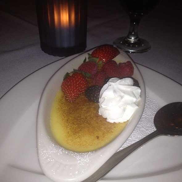 Creme Brulee - Logan Inn, New Hope, PA