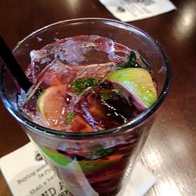 Berry Mojito - Bar Louie - Uptown, Minneapolis, MN