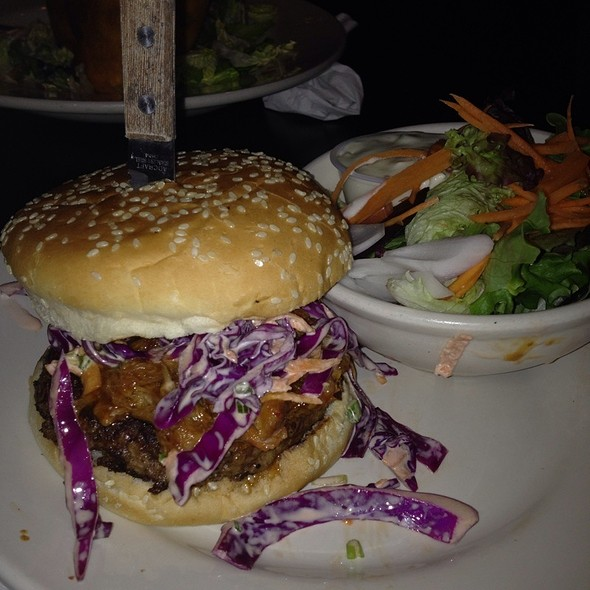 Little Piggy Burger (Pulled Pork Topped) - Weather Mark Tavern, Chicago, IL