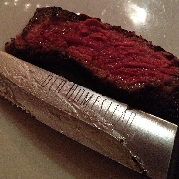 Gotham Rib Steak 34 Oz. - Old Homestead Steakhouse- New York City, New York, NY