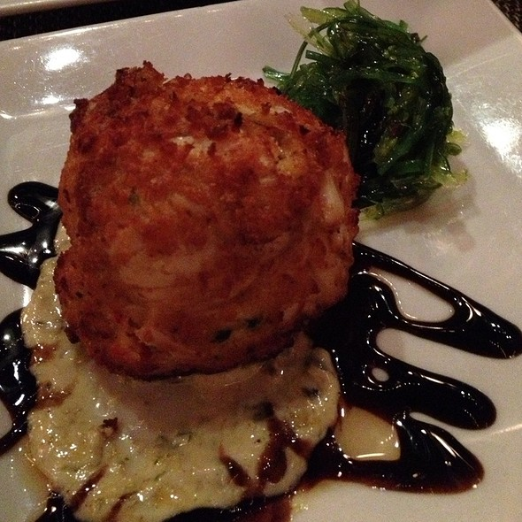 crab cake - Old Homestead Steakhouse- New York City, New York, NY