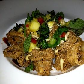 Asian Spiced Crispy Calamari - Moshulu, Philadelphia, PA