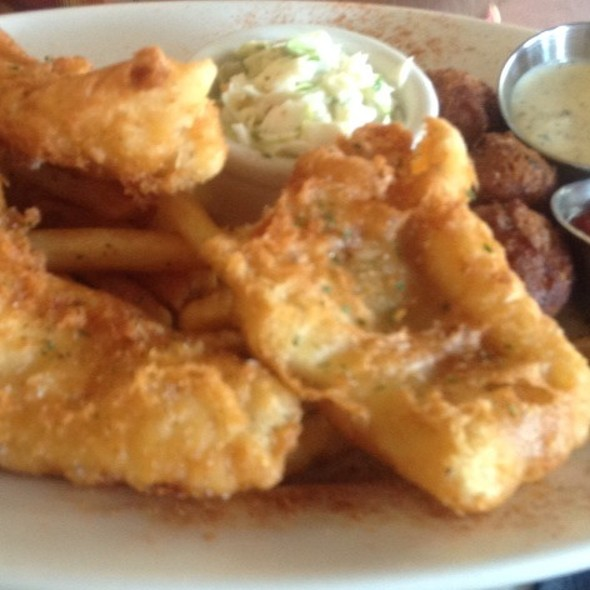 Fish and Chips - Mitchell's Fish Market - Winter Park, Winter Park, FL