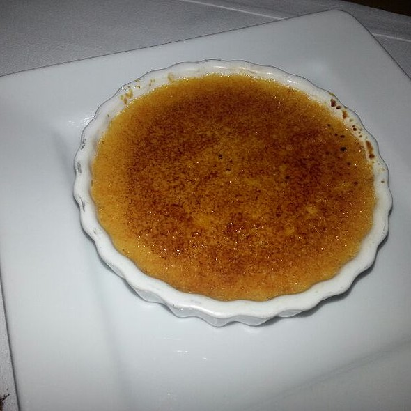 Pumpkin Creme Brulee - John J Jeffries at the Lancaster Arts Hotel, Lancaster, PA