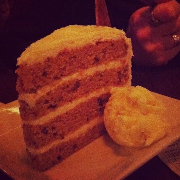 Carrot Ginger Cake - Serrano, Philadelphia, PA