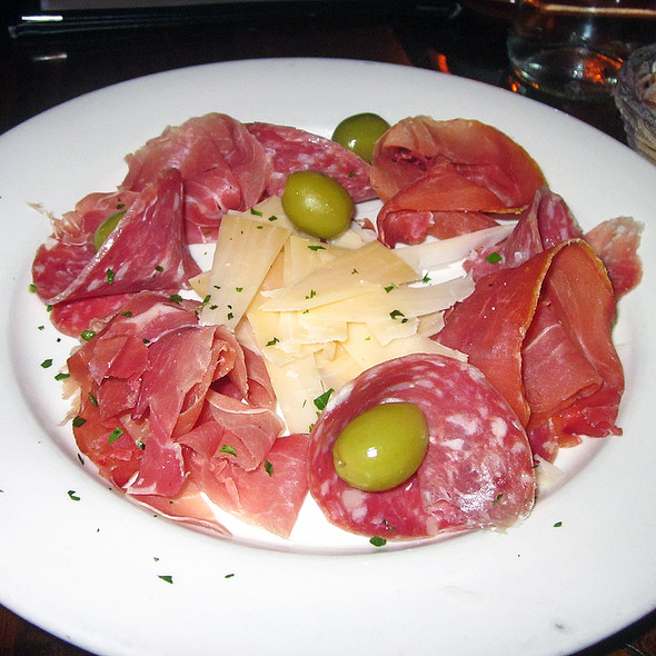 Prosciutto, Soppressata, and Parmigiano Cheese - Fiat Cafe, New York, NY