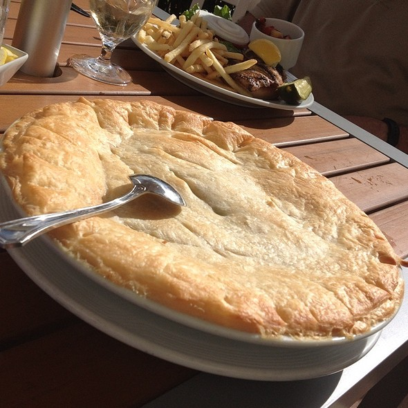 Chicken Pot Pie - Waterside Grill – Tampa Marriott Waterside, Tampa, FL