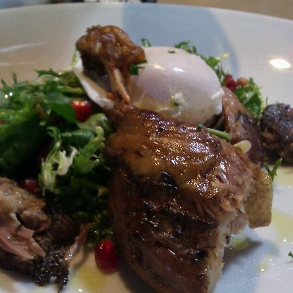 Duck Confit With Frisee Salad And Pomegranates - Cowboy Star, San Diego, CA