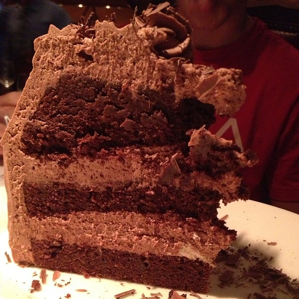 Chocolate Mousse Cake - Trattoria Romana, Boca Raton, FL