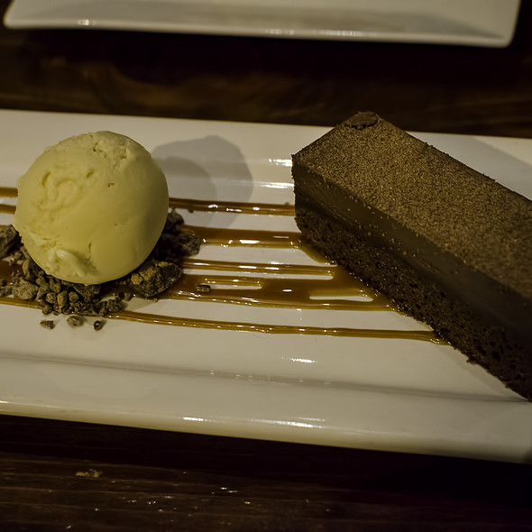 Dark Chocolate Brownie - Wood Tavern, Oakland, CA