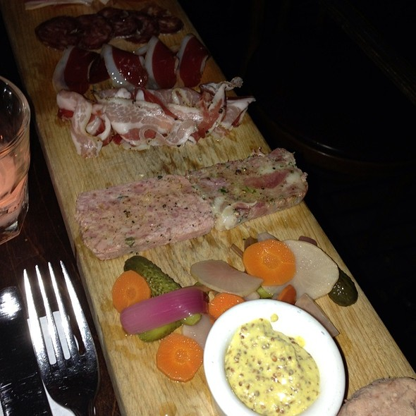 Charcuterie plate - Church & State, Los Angeles, CA