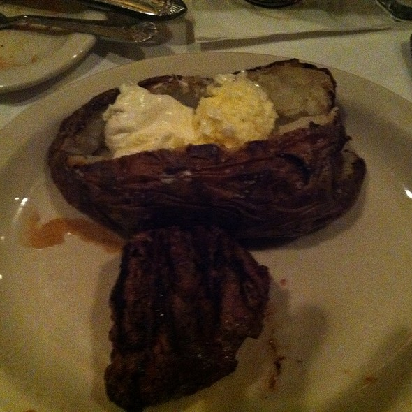 Filet Mignon - St. Elmo Steak House, Indianapolis, IN