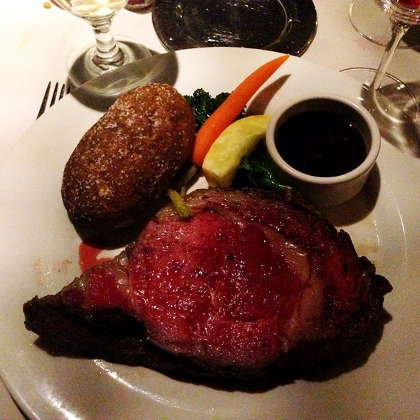 Prime Rib - Friday's Station Steak & Seafood Grill - Harrah's Lake Tahoe, Stateline, NV