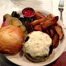 Black And Blue Burger - The Majestic Restaurant, Kansas City, MO