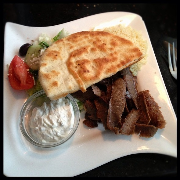 Gyro Platter - Greek Islands Grill, Silver Spring, MD