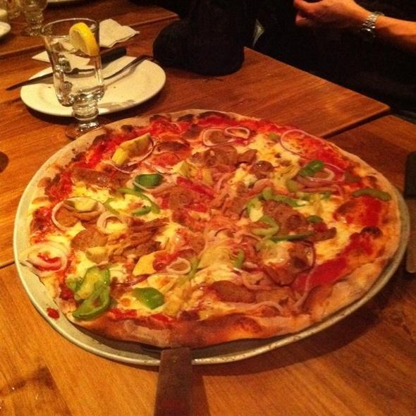 Salsiccia Pizza - Pacifico Pizzeria Ristorante, Vancouver, BC