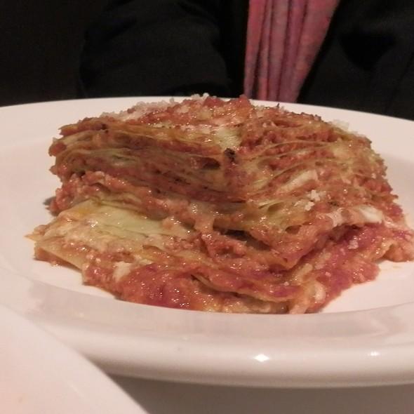 Lasagne Verdi alla Bolognese - Biba Restaurant, Sacramento, CA