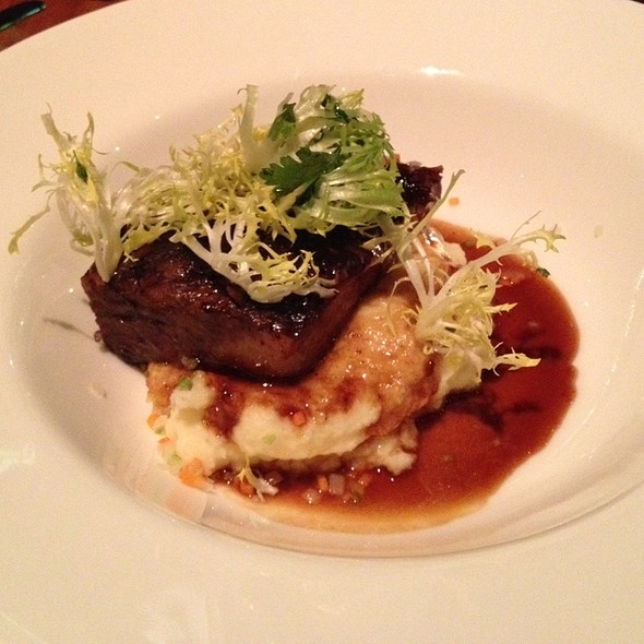 Braised Short Ribs - Manzanita at The Ritz-Carlton, Lake Tahoe, Truckee, CA