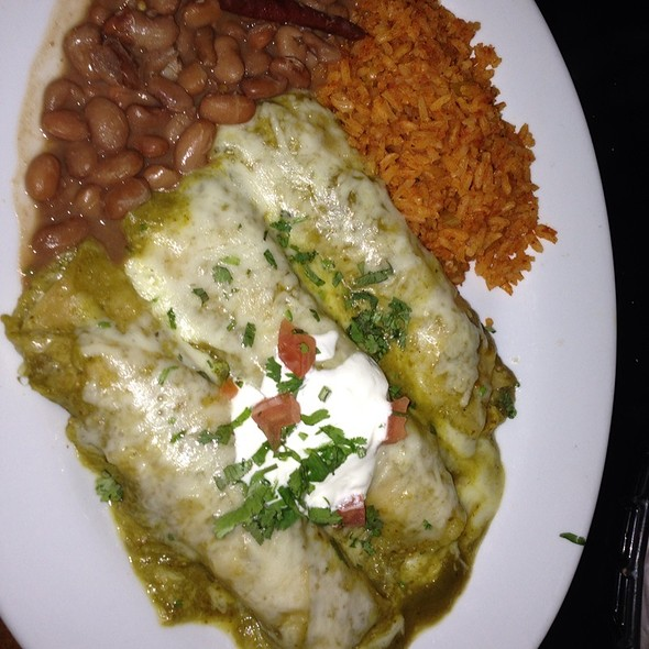 Chicken And Cheese Enchilada - Mas Malo, Los Angeles, CA