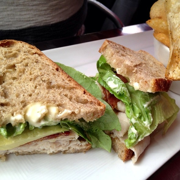 Turkey Avocado Club Sandwich - Town Hall - San Francisco, San Francisco, CA