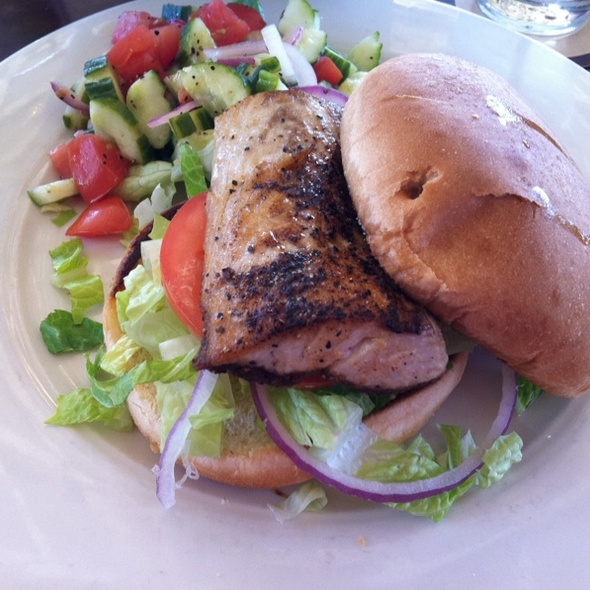Blackened white fish sandwich - Tommy Bahama Restaurant & Bar - Scottsdale, Scottsdale, AZ