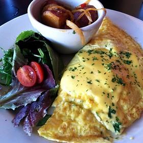 Crab Florentine Omelette - Acme Food & Beverage Co., Carrboro, NC